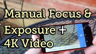 Знімати відео 4K з ручного фокусування і експозиції на Nexus 5 [як-до]
