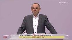 SPD-Parteitag 2019: Rede von Norbert Walter-Borjans am 06.12.19