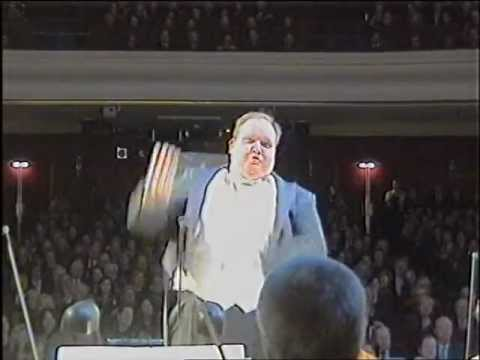 """Candide - What the orchestra sees or """"The dancing conductor"""