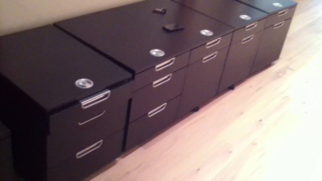 Ikea galant file cabinet assembly service video in dc md for Ikea galant bureau debout hack