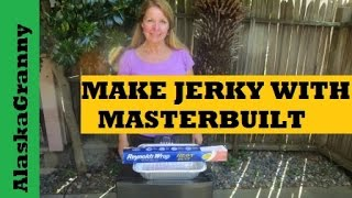 How To Make Jerky On The Masterbuilt Smoker