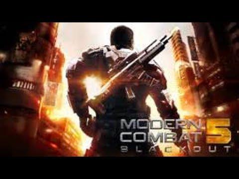 Hier Geht Die Aktion ab ! Modern Combat 5  Blackout Part 1 (German gameplay)