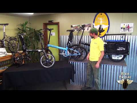 Cero Electric Cargo Bike & Surf Board Rack!   Electric Bike Report