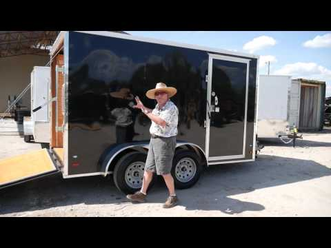 7x12 Enclosed Trailer