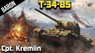 War Thunder Tanks - T-34-85 Tier 3 Beast From the East (War Thunder 1.43 Gameplay)