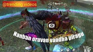Nanban oruvan vandha piragu song // freefire 👬friendship status tamil.....