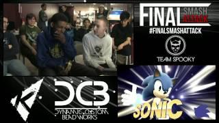 Final Smash Attack - SSB4 High Stakes Invitational 1v1 - Tweek vs Modbot 6WX