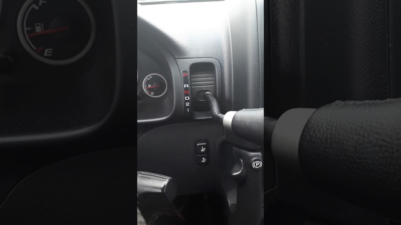2005 CR-V weird humming/buzzing sound when pressing pedal