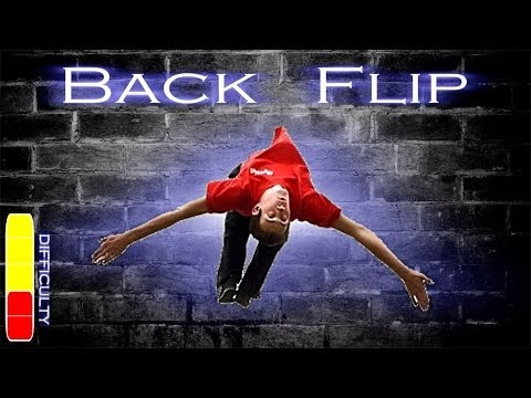 How to learn a backflip in week