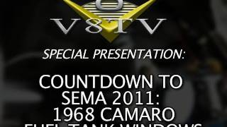 1968 Camaro Countdown to SEMA Show 2011 V8TV Video:  DSE Quadralink Exhaust Path