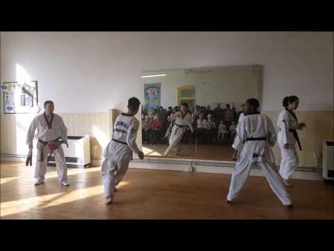 Taekwondo Demonstration - Exeter Lions Taekwondo - Korean New Year