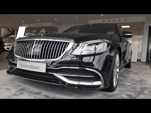 In the Mercedes Maybach S560: review exterior/ interior [HD]