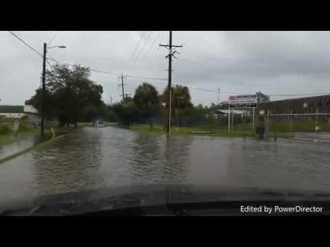 Global warming! Climate changing! Tampa Bay floodi