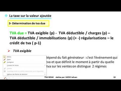#EP 3 fiscalité: la taxe sur la valeur ajoutée| 2/4