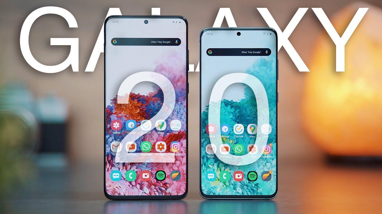 Samsung Galaxy S20 / S20+ : LE TEST APRÈS 1 MOIS