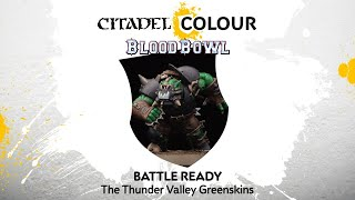 How to Paint Blood Bowl: Battle Ready Thunder Valley Greenskins