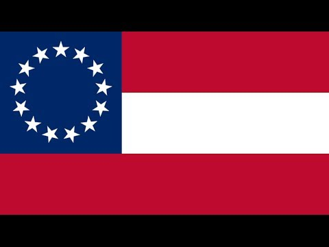 The Confederate States of America's Flag and its Story