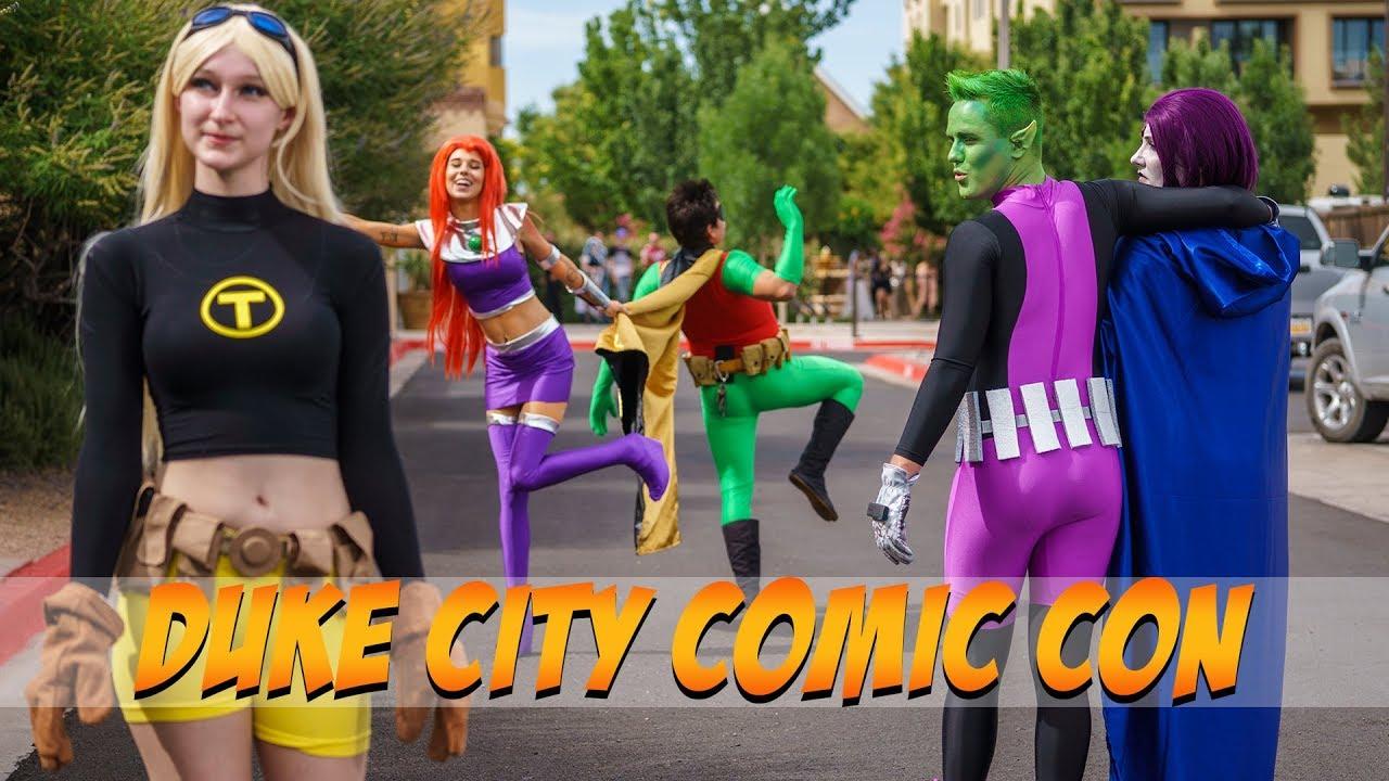 DUKE CITY COMIC CON 2018 COSPLAY MUSIC VIDEO