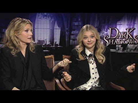 Dark Shadows: Michelle Pfeiffer and Chloë Moretz on Grease 3