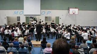 Orpheus Overture - Gr. 8 Band Moscrop Secondary School Spring Concert 2009