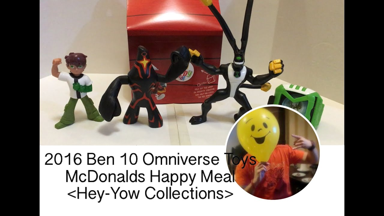 2016 Ben 10 Omniverse From Mcdonald S Happy Meal Youtube