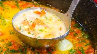 СУП - НОВИНКА! Суп с Курицей и Плавленым Сыром, который сводит всех с ума!