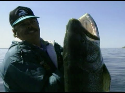 MONSTER LAKE TROUT, WORLD RECORD LAKER