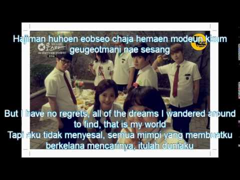 Color Bar-That Is My World ost monstar (Romanisation/English/Indonesia)