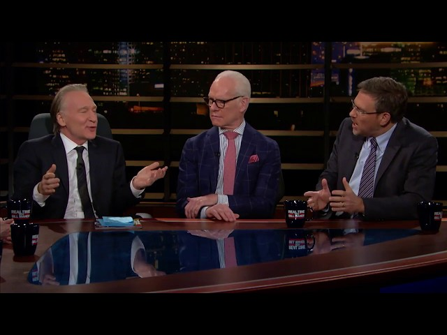 J Edgar Hoover, Chelsea Manning, PC Colleges    Overtime with Bill Maher (HBO)