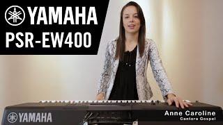 novo teclado psr ew400