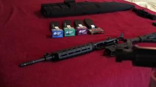 "Adams Arms 14.5"" Mid Length UltraLite MOE (Part 3 - Ammo Tests)"