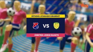 Medellín vs Leones - Mejores jugadas - Fecha 9 Liga Aguila II 2018