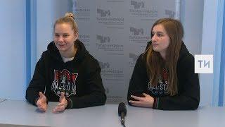 Интервью с Николь Чупковой и Марией Печниковой в рамках Недели Звезд Хоккея