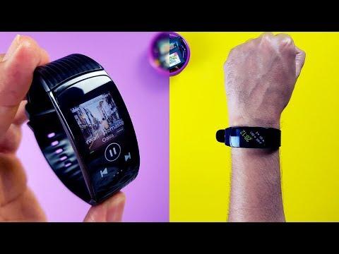 A MELHOR smartband que já usei. DISPARADA a mais COMPLETA! Samsung Gear Fit 2 Pro review