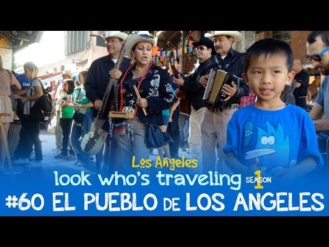 Downtown Los Angeles (El Pueblo de Los Angeles & Little Tokyo): Look Who
