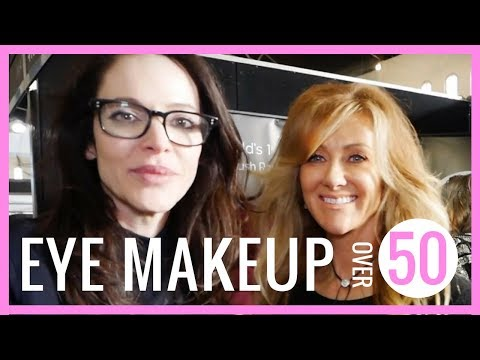 Eye Makeup Tutorial For Mature Hooded Eyes | With Top Makeup Artist Rae Morris  - fabulous50s