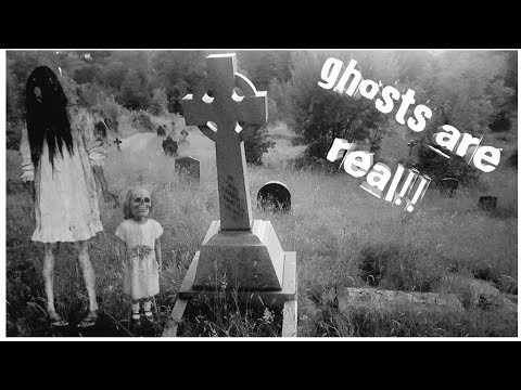 WARNING! Real bride ghost captured on video! In creepy abandoned terrifying graveyard!