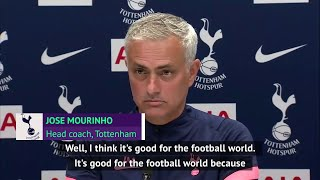 Mourinho hates Tottenham's Amazon documentary but would do it again