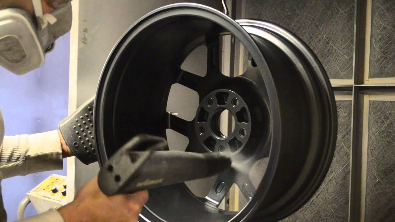 Powder Coating Wheels Youtube