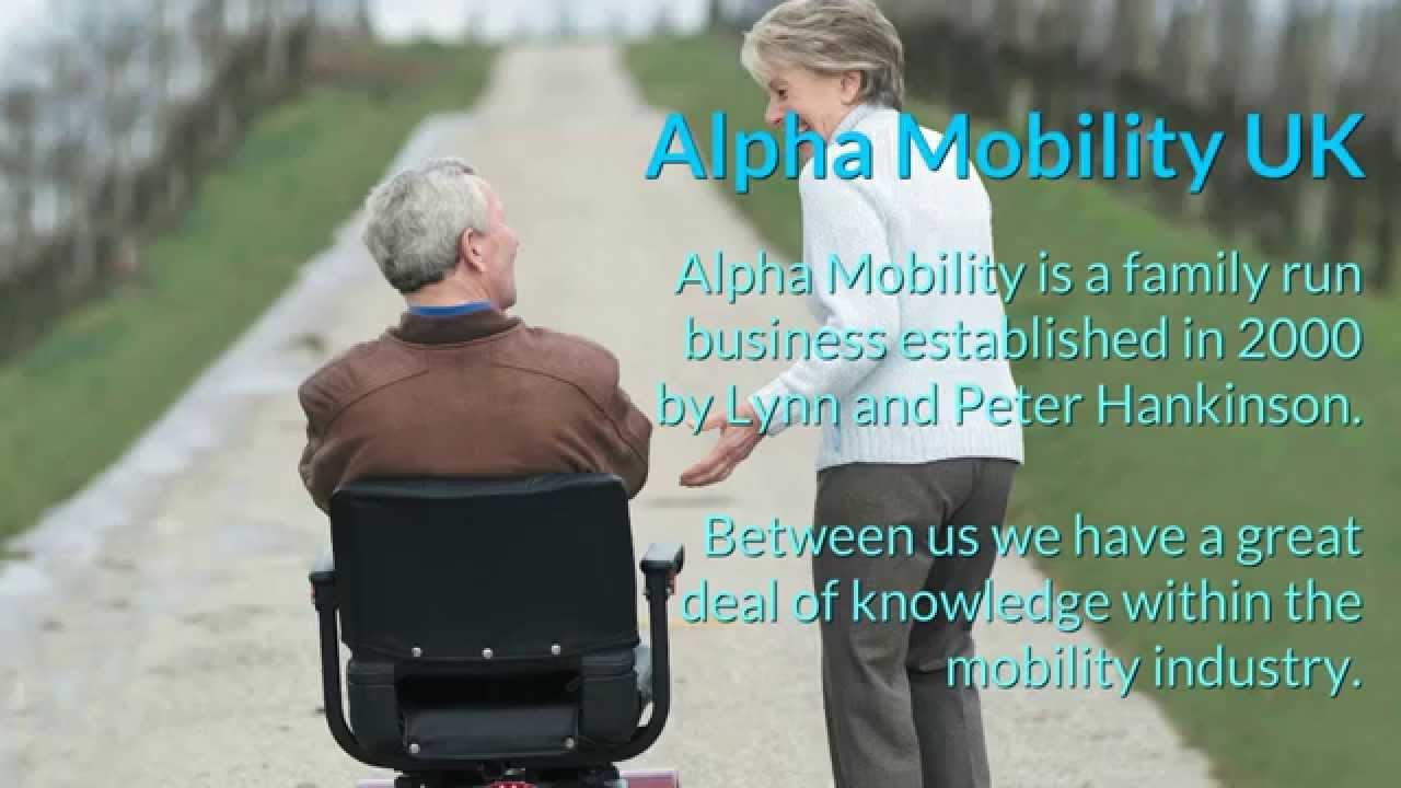 alpha mobility uk - YouTube