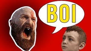 God of War BOI - GoW Boy Meme Music Video