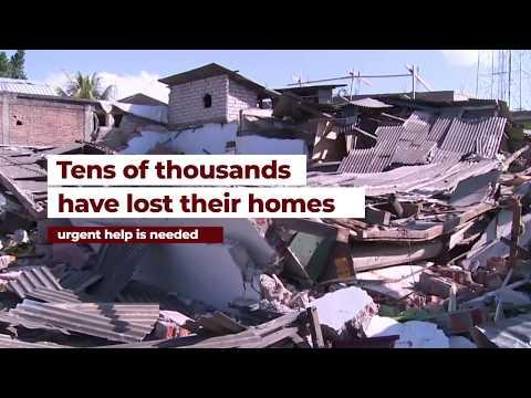 Indonesia Lombok Earthquake Emergency Response