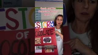 Sarah and the Chocolate Project PART 1 pam_a_cake #shorts
