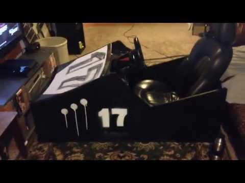 Sim Racing Budget Wooden Cockpit (Under $50)