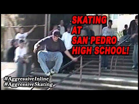 Skating At San Pedro High School! 🔥
