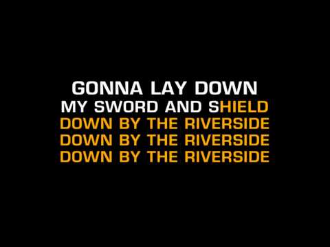 Children's Bible Songs - Down By The Riverside (Karaoke)