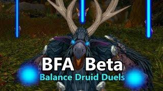 WoW BFA Balance Druid Duels (Beta)