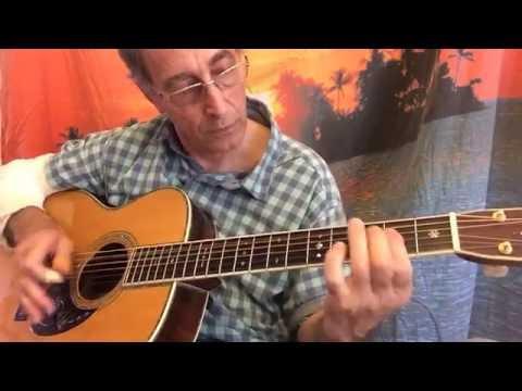 Make Believe Stunt (aka Maple Leaf Rag) - Rev Gary Davis - Guitar ...