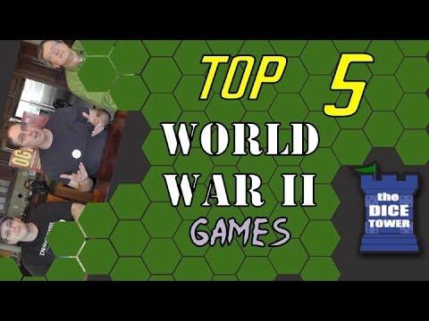 Top 5 World War II Games - Ith HAMTAG