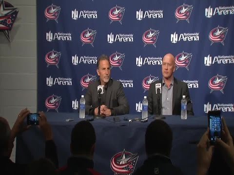 John Tortorella's first press conference as CBJ head coach